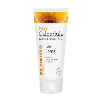 Organic calendula body milk tube 1 150 ml