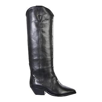 Isabel Marant Bt00720a021s01bk Women's Black Leather Boots