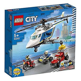 Playset City Politiet Helikopter Chase Lego 60243