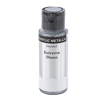59ml Extreme Sheen Metallic Acrylic Paint for Adults Crafts - Silver