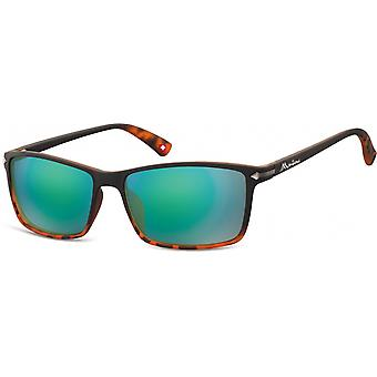 Sunglasses Unisex by SGB brown/blue (turtle) (MS51)