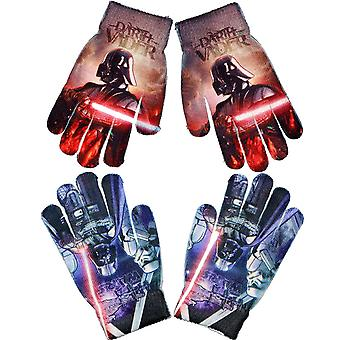 2-Pack Star Wars Darth Vader Mittens FingerMittens One Size
