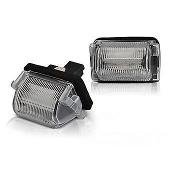 Rekisterikilven valaistus LED MAZDA 5 10-15 / CX-9 06-15 LED