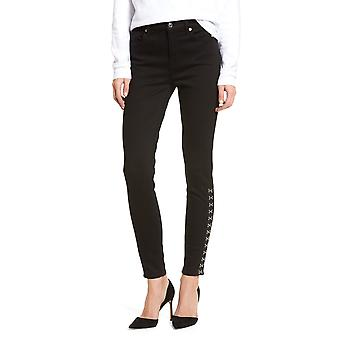 7 For All Mankind | Side-Stitch Skinny Jeans