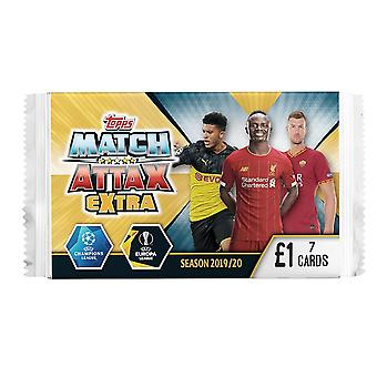 UEFA Champions League Match Attax Extra - 7 Card Packet (Pack of 50)
