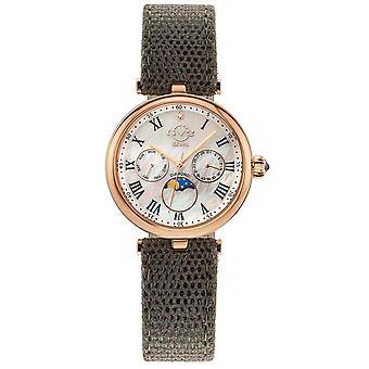 GV2 av Gevril Women's Florence 12504 Swiss Quartz Diamond Limited Edition Watch