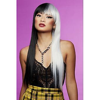 Manic Panic Downtown Diva Wig - Raven Virgin