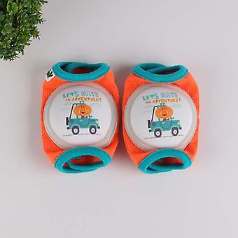 Cartoon Baby Sport Knee Pad Kids Safety Crawling Elbow Cushion Infant Toddlers Leg Warmers Support Protector