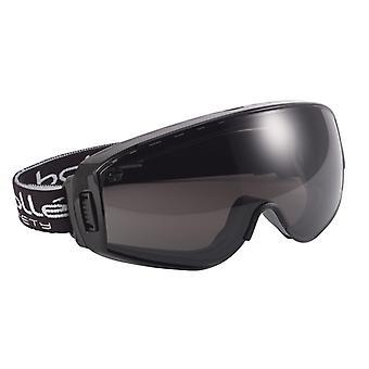Bolle Safety Pilot Ventilated Safety Goggles - Smoke BOLPILOPPSF