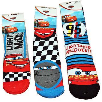 1 Paar Disney Cars dicke Slip Socken