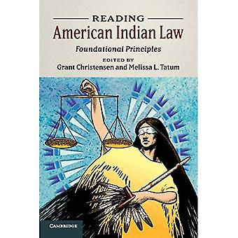 Reading American Indian Law: Foundational Principles