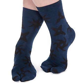 Flip Flop Ponožky-házení hvězdy vzor