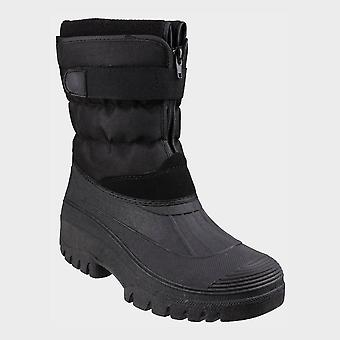 Cotswold Men's Chase Snow Boot Black