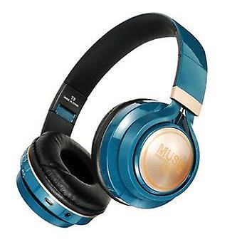 Bakeey T9 bluetooth Headphone Wireless Headset Foldable TF Card AUX Sport