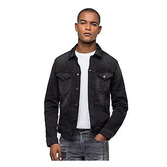 Replay Jeans Replay Hyperflex Bio Denim Jacket Black