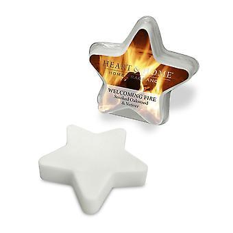 Heart & Home Wax Melts Welcoming Fire