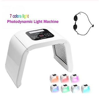 7 Color LED PDT Light Skin Care Beauty Machine LED Facial Mask PDT Therapy For Skin Rejuvenation Acne Remover Anti-wrinkle