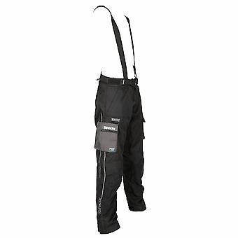 Spada Dálkové vodotěsné textilní motocyklové kalhoty černá