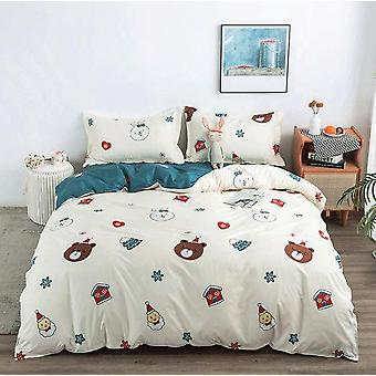 Soft Breathable Printed Cotton Bedding Sets