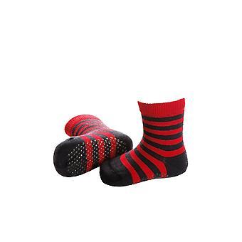 Striped Baby Socks With Merino Wool