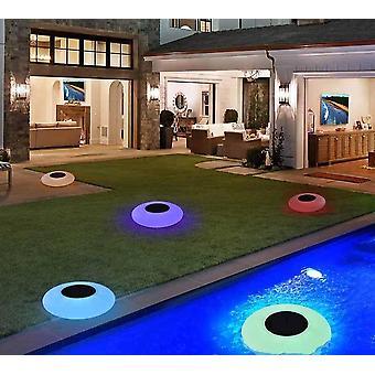 Luci della piscina Luce solare galleggiante con impermeabile a led multicolore