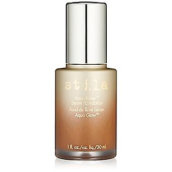 Stila Aqua Glow Serum Foundation 30ml - Tan Deep For Dry Skin