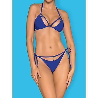 Bikini Costarica blå storlek: XL