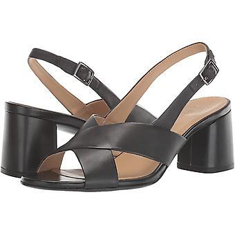 Naturalizer Kvinnor's Skor Azalea Läder Öppen Tå Casual Slingback Sandaler