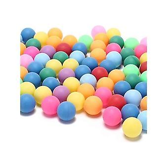 Tafeltennisballen 100 pack met verschillende kleuren