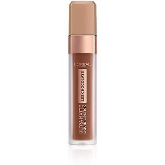 L'Oréal Paris Les Chocolats Ultra Matte Liquid Lipstick 7.6ml - 866 Truffa Mania