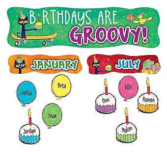 Pete The Cat Happy Birthday Mini Bullletin Board