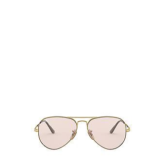 راي بان RB3689 الذهب النظارات الشمسية للجنسين