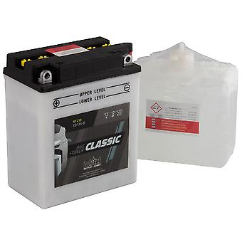intAct CB12A-B Classic Bike-Power Battery With Acid Pack