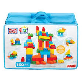Mega Bloks - 150 Piece Deluxe Building Bag