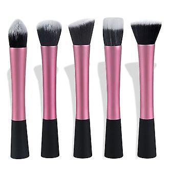 5 stk. Pink Make-up / makeup børster af den bedste kvalitet