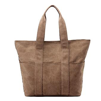 Waterproof Nylon Large Lightweight Tote Handbag
