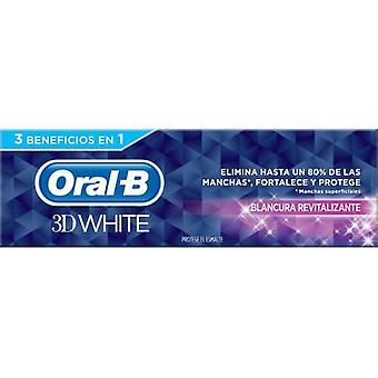 Oral B Toothpaste White 3D Revitalizing Whiteness 75 ml