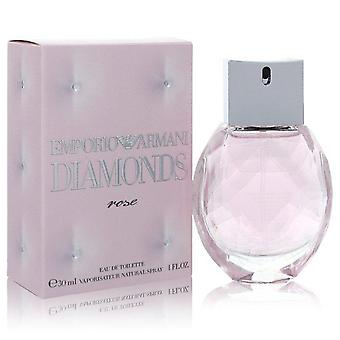 Emporio Armani Diamonds Rose Eau De Toilette Spray By Giorgio Armani 1 oz Eau De Toilette Spray