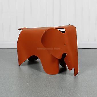 Stolen för djurelefantform