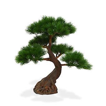 Kunstig Pinus Bonsai Tree x5 Deluxe 80 cm på basen