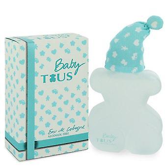 Baby Tous Eau De Cologne Spray (bez alkoholu) przez Tous 3,4 uncji Eau De Cologne Spray