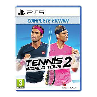 Tennis World Tour 2 PS5 Game