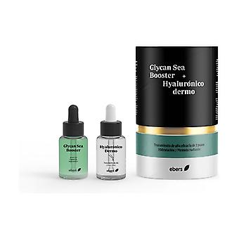 Glycan Sea Booster + Hyaluronic Dermo 2 units of 30ml