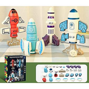 Children's Magnetic Robot Building Block