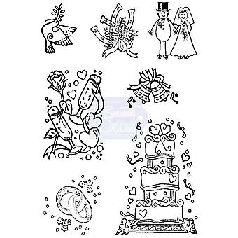 Sweet Dixie Clear Stamps - Wedding Selection 2