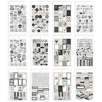 Simple Stories - Carpe Diem - Beautiful - Beautiful Mini Sticker Tablet