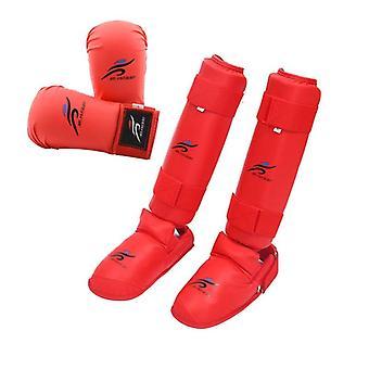 Taekwondo Equipment, Mma Suit Boxing Gloves Set, Leg Shin Guard, Hand Palm Foot
