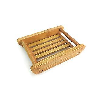 Support de plateau de vaisselle de savon en bambou