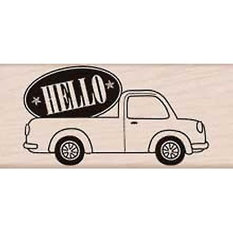 Hero Arts Hello Delivery - Wood Mounted Stamps