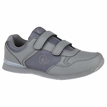 DEK Drive Mens Casual Trainers Grey